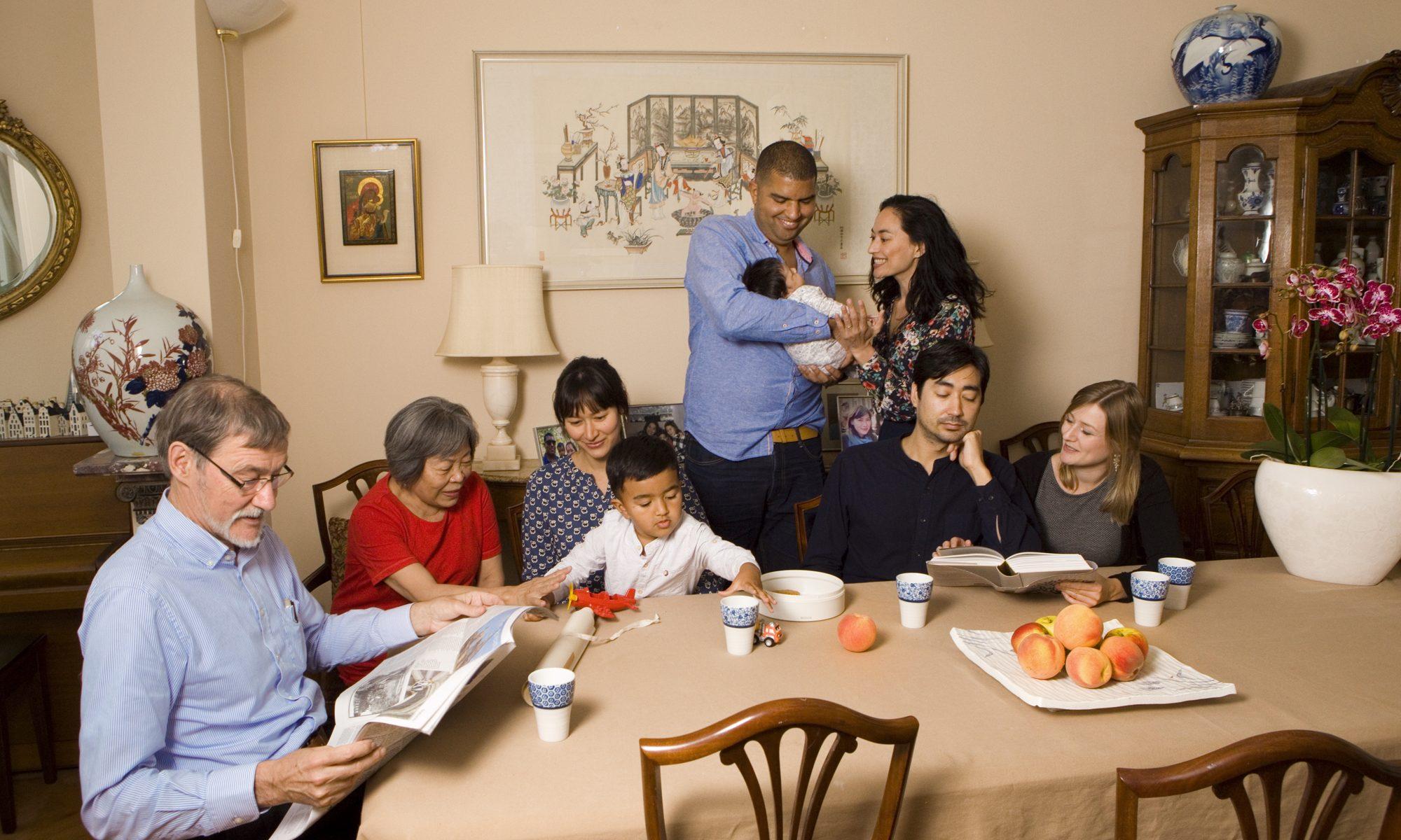 Familieportret Den Haag