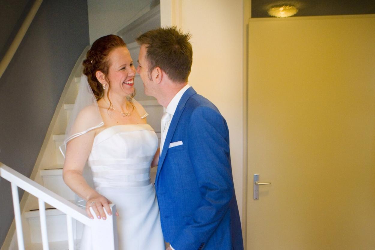 Bruidsfotografie bruiloft eerste blik
