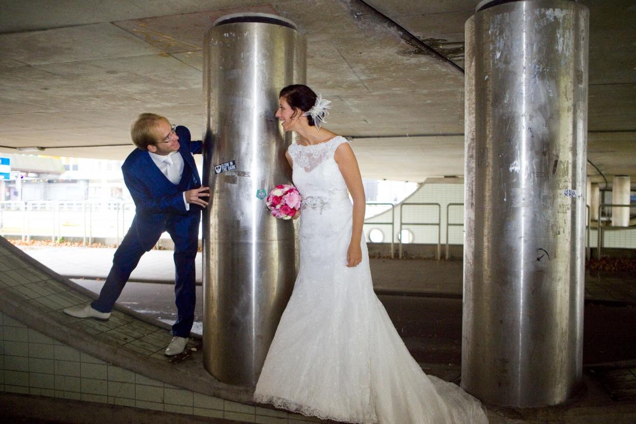 Bruidsfotografie bruiloft Kuyl's Fundatie Rotterdam trouwreportage