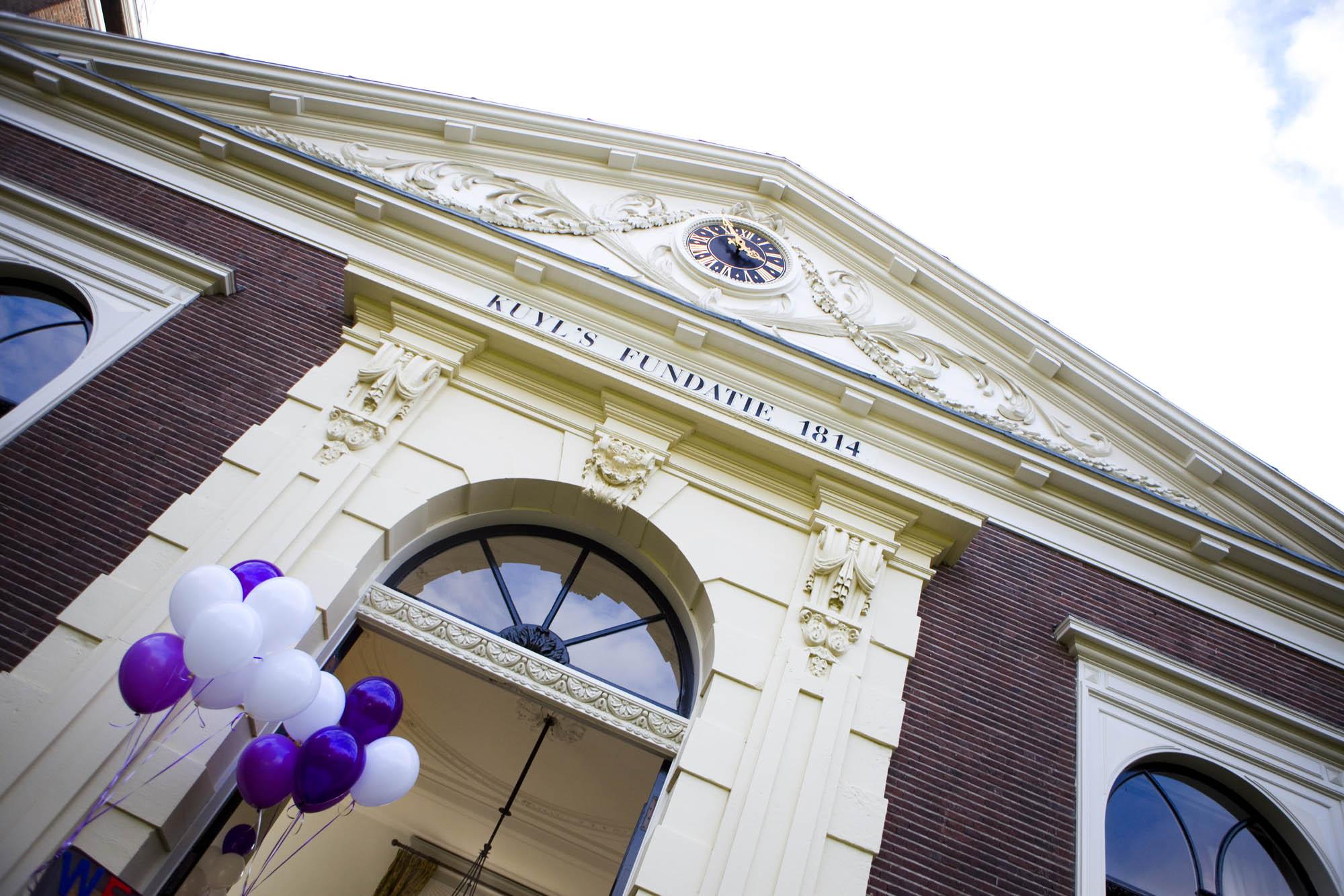 Bruidsfotografie bruiloft Kuyl's Fundatie Rotterdam