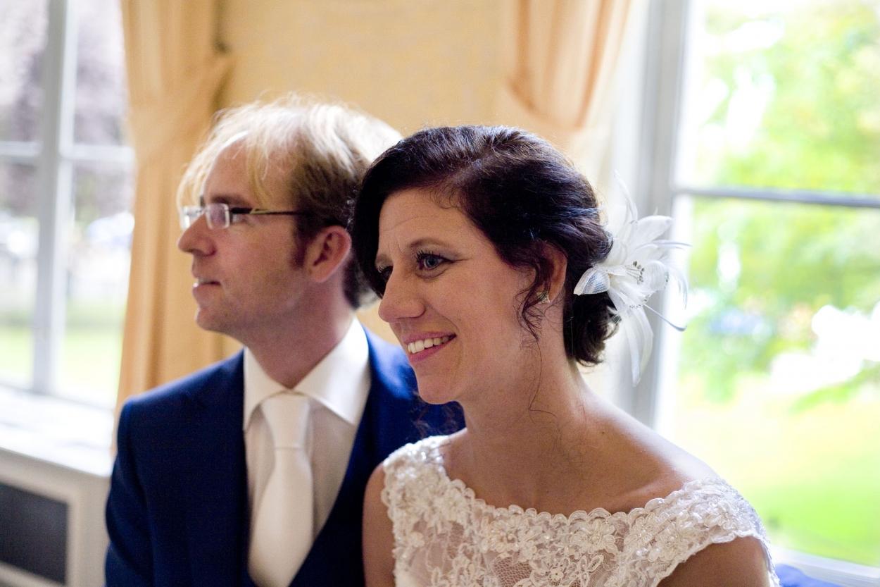 Bruidsfotografie bruiloft Kuyl's Fundatie Rotterdam bruidspaar ceremonie