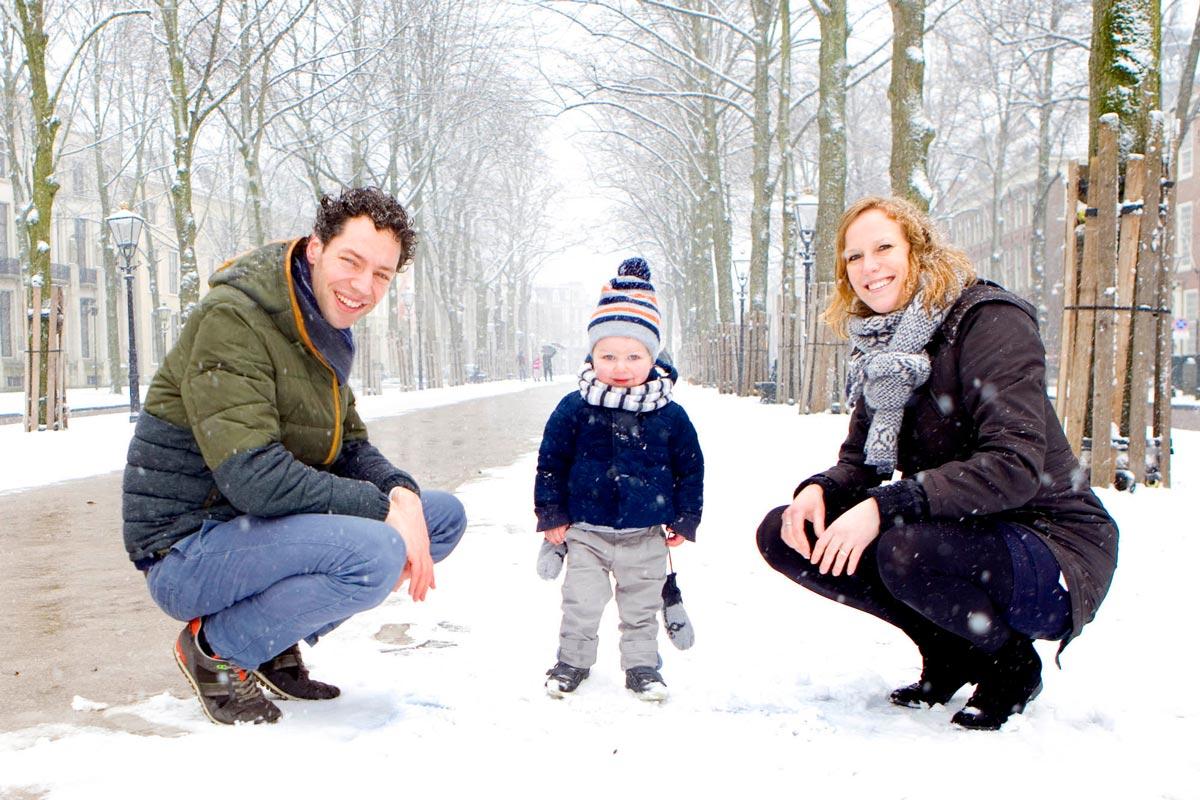 Fotosessie familieportret Den Haag