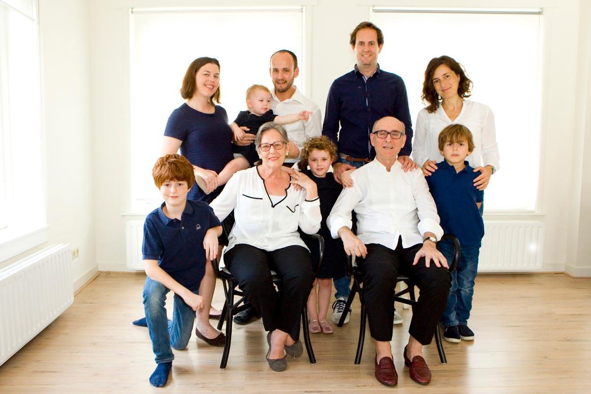 Fotograaf familie portret Delft