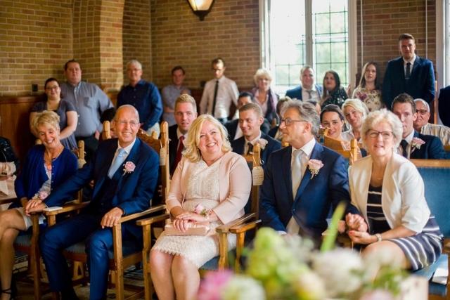 Ceremonie bruiloft Raadhuis Leidschendam