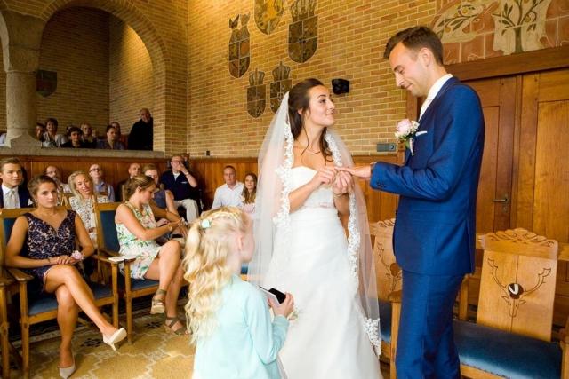 Ceremonie Raadhuis Leidschendam trouwzaal