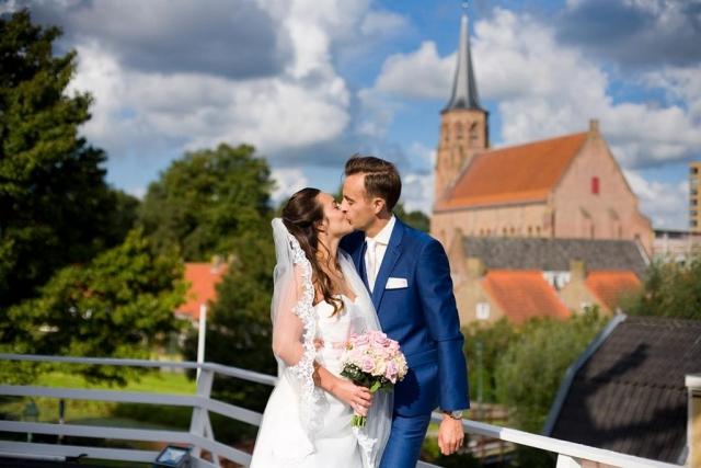Bruiloft trouwreportage Molen De Korenaer Den Haag Houtwijk