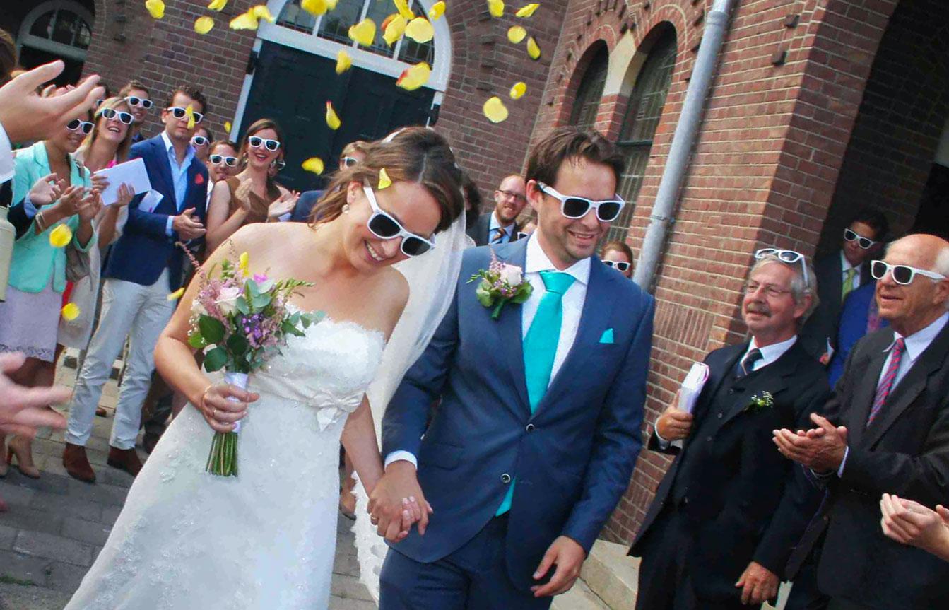 bruiloft ceremonie Badkapel Scheveningen Den Haag trouwfoto's erehaag