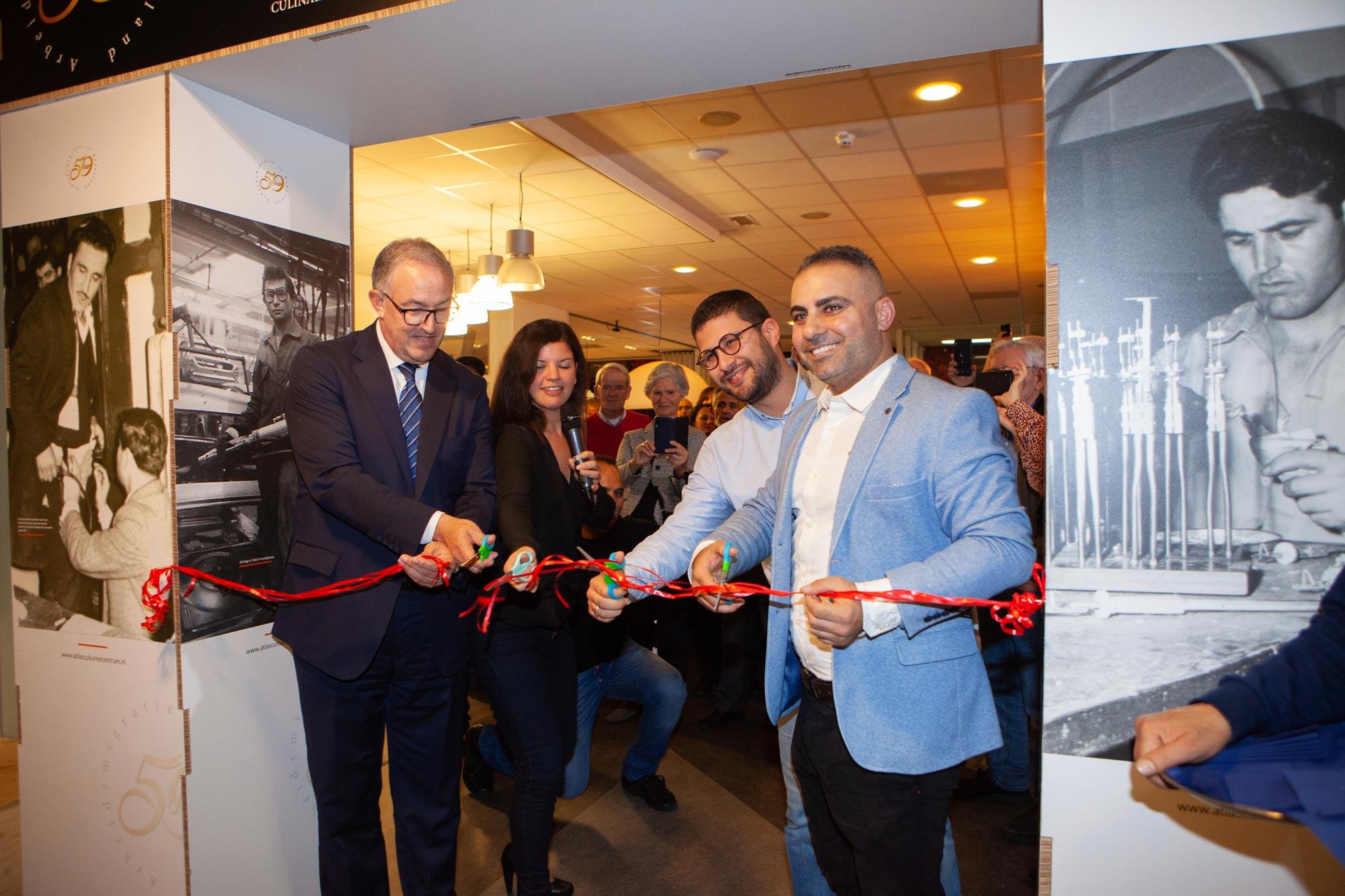 Opening fototentoonstelling Rotterdam Aboutaleb