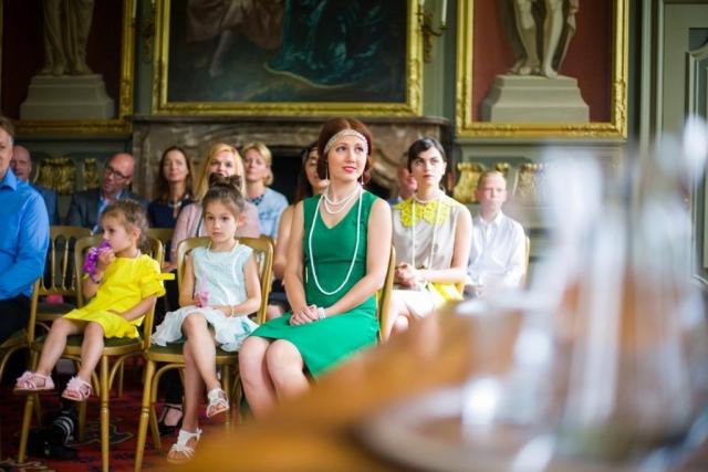 bruiloft ceremonie Marotzaal Kasteel Duivenvoorde Voorschoten